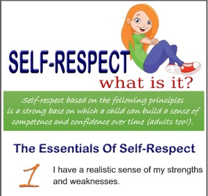 what is self respect and how i reached it Self-esteem self-respect n respect for or a favourable opinion of oneself n the  sense of one's own value or worth as a  actress ads hit my black pride.