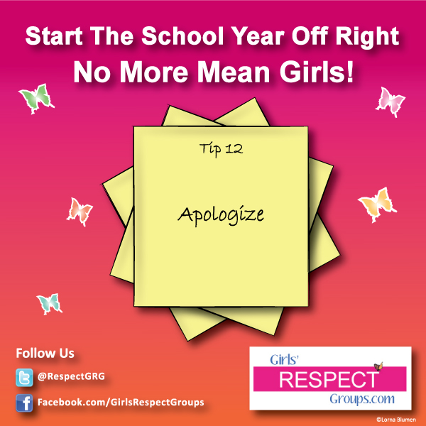 No More Mean Girls Tip 312