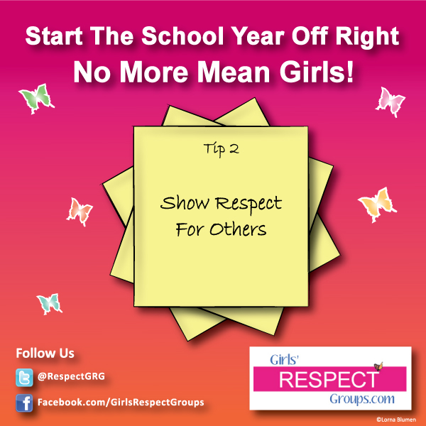 No More Mean Girls Tip #2