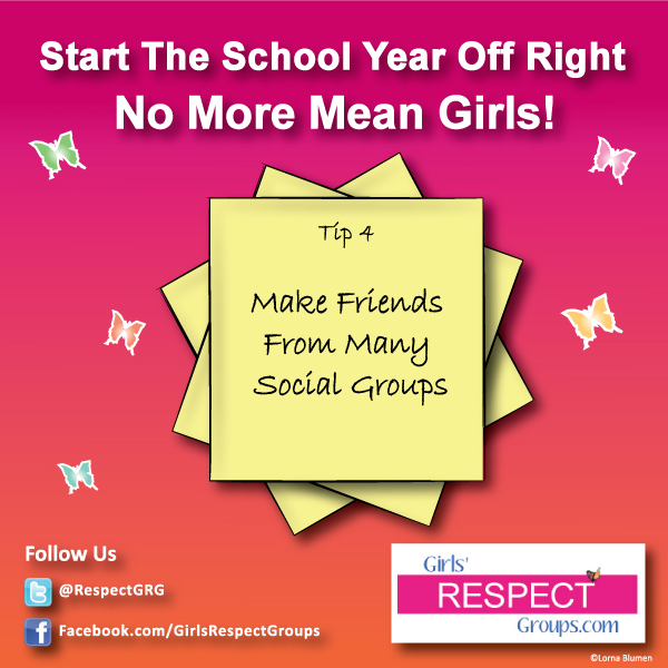 No More Mean Girls Tip #4