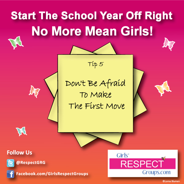 No More Mean Girls Tip #5