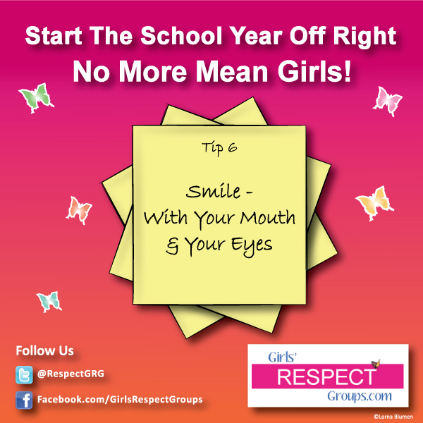No More Mean Girls Tip #6