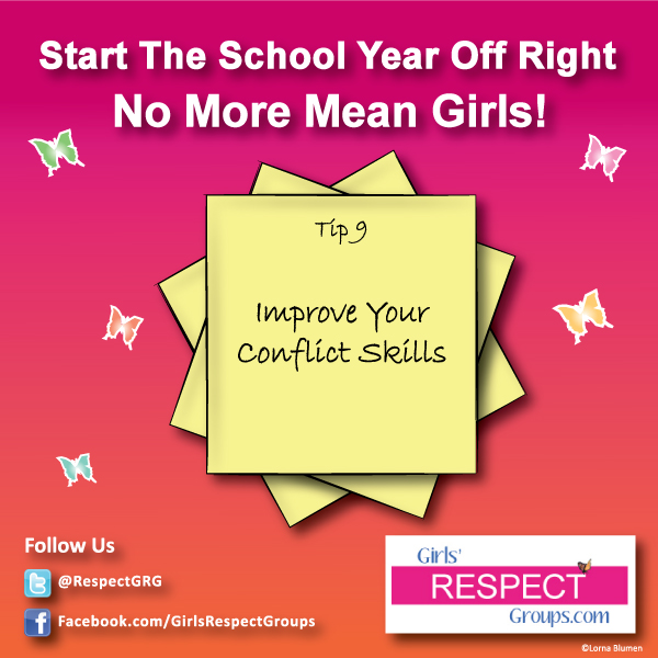 No More Mean Girls Tip #9