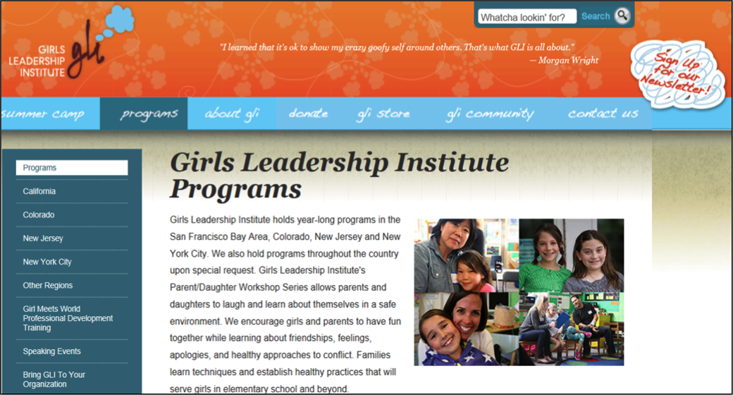 Girls Leadership 1