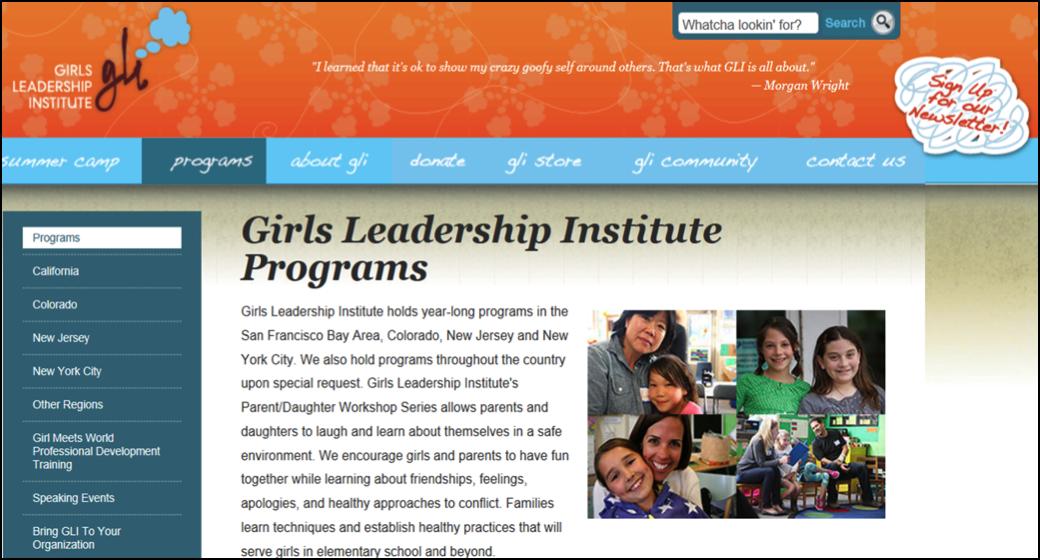 Girls Leadership 1